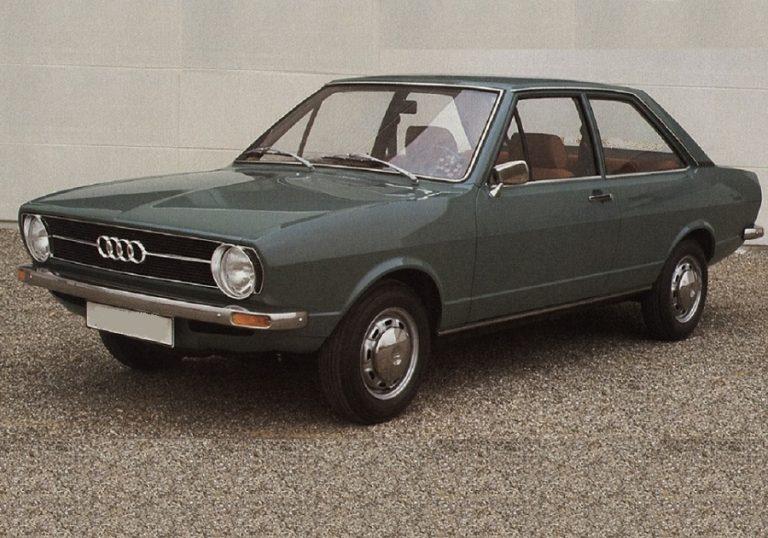Audi 80 1972 - Cars evolution