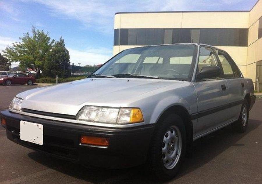Honda Civic 1987 - Cars evolution