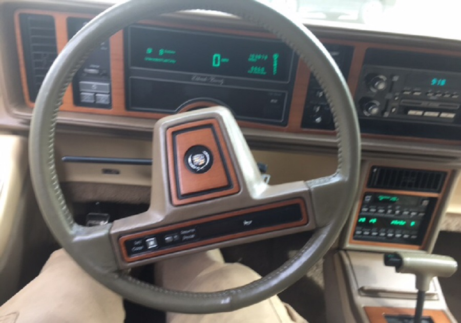 Cadillac Eldorado 1986 - Cars evolution