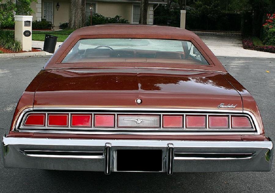 Ford Thunderbird 1975 Cars Evolution